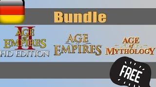   Age of Empires I,II und Mythology for Free German/Deutsch  