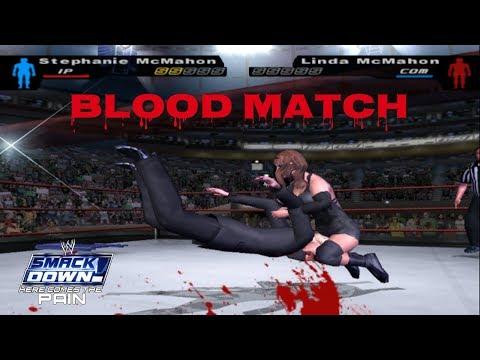 Stephanie vs. Linda McMahon | Blood Match | WWE SD! HCTP 2003 thumbnail