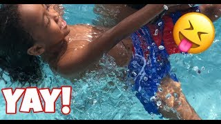 SURPRISING LIL GILLY WITH A DAY AT THE WATER PARK!!!
