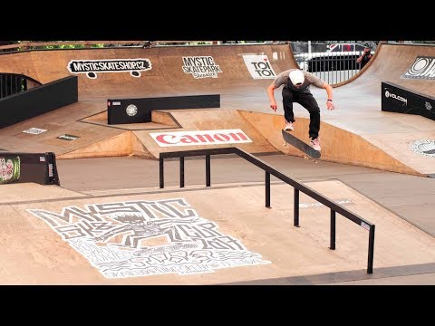 Heavy Throwdowns at Mystic Sk8 Cup 2017: Highlights