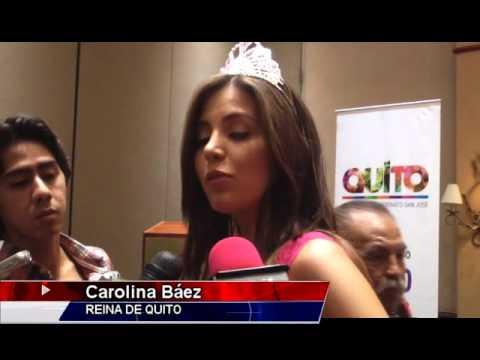 La nueva Reina de Quito y su corte iniciaron varias actividades