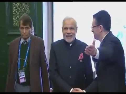 PM Modi arrives at G20 Summit venue in Brisbane