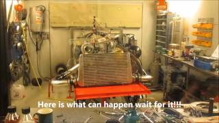 Dieselmeken shows OM606 in dyno 20160404 LUNTEC Sweden