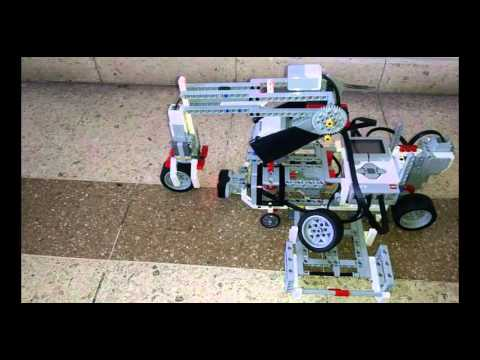 LEGO: Brazo Robótico Levanta Llantas