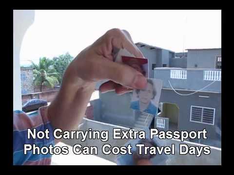 Carry Extra Passport Photos or Lose Travel Days
