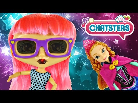 Frozen Anna's New Bestie Chatsters Gabby Talking Doll Color Changing Lips and Plays Music