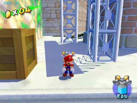 Super Mario Sunshine - Dolphin Gamecube Emulator