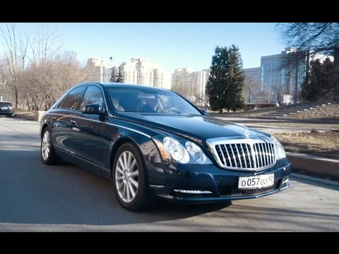 DT Test Drive — Maybach 57S vs