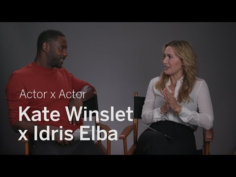 Kate Winslet x Idris Elba | Actor x Actor | TIFF 2017