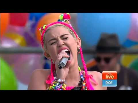Miley Cyrus - The Scientist Live on Sunrise (Coldplay cover)