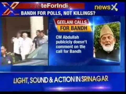 #VoteForIndia: Hurriyat leader Ali Shah Geelani calls for bandh in Srinagar