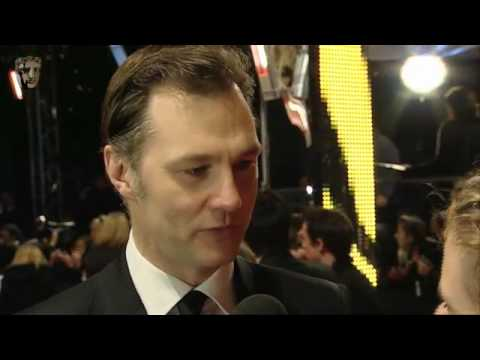 David Morrissey - BAFTA Film Awards in 2010 Red Carpet