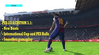 PES2018 CUSTOM PATCH WINTER AIO + DATAPACK 3.0/3.1 PS3 CFW 11.65 MB