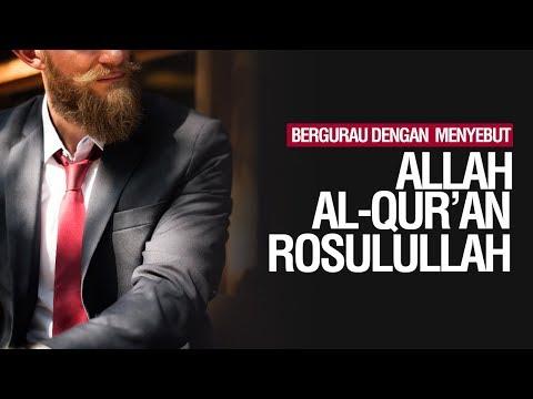 Bergurau dengan menyebut Allah, Al-Qur'an, atau Rasulullah - Ustadz Ahmad Zainuddin Al Banjary