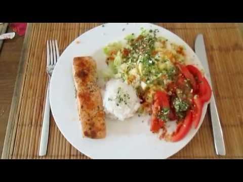 Германия. Очень Вкусная Рыба с Овощами. Здоровое Питание. Вкусно и Быстро. Рецепт быстрого обеда.