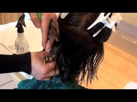 COSMETOLOGY; HAIRCUT 1-2 RAZOR / SCISSORS  DEMO for State Board License, 90 degr