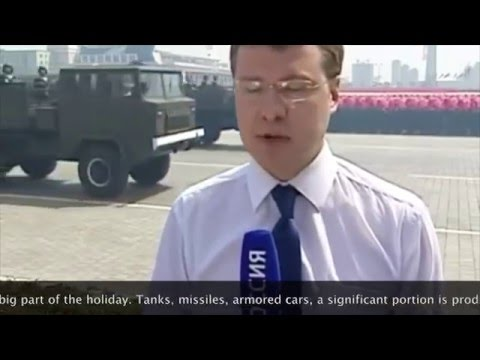 Russian television report about North Korea. (English translation)