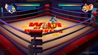 Tom and Jerry  War of the Whiskers   PS2 Bonus Stages Robo Cat Monster Jerry + Alternative Costumes