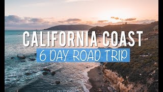California Road Trip: 6 Days Exploring the Central Coast