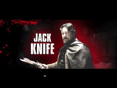 The Man With The Iron Fists - Character Trailer: Jack Knife (Russell Crowe)