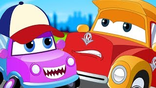 We Are The Monster Trucks | Super Car Royce And Baby | Song For Kids