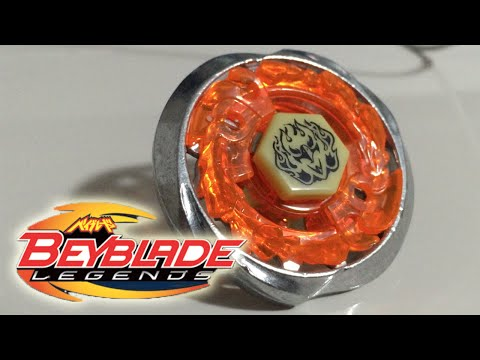 Burn Fireblaze 135MS Beyblade LEGENDS Unboxing & Review! - Beyblade Metal Fusion