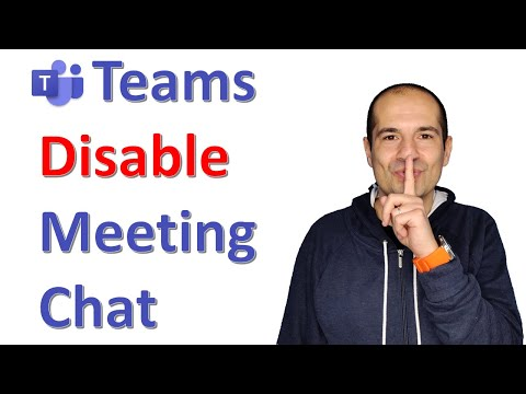 How to disable chat in Microsoft Teams 🗣
