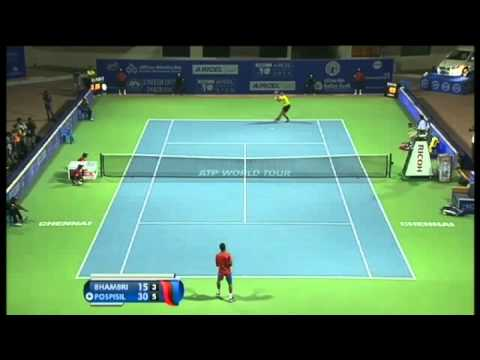 ACO 2014- Day 5: Match 3 Highlights- Y BHAMBRI vs V POSPISIL