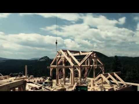 каркасный дом с плоской крышей, Каркасный дом с односкатной крышей - Каркасный дом с односкатной крышей - 0