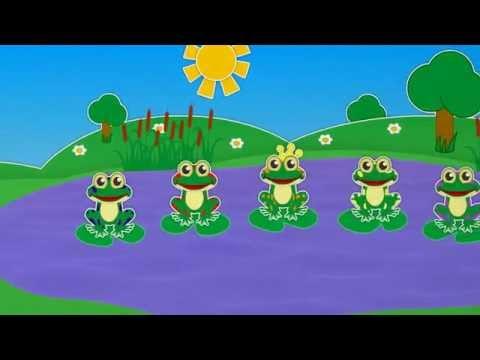 Пять ленивых лягушат