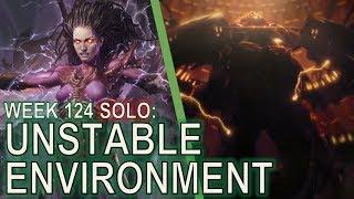 Starcraft II Co-Op Mutation #124: Unstable Environment [Kerrigan True Solo]