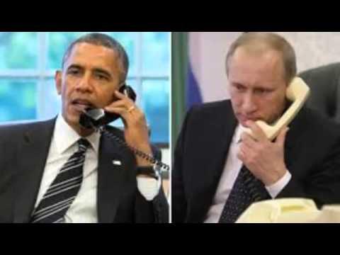 Vladimir Putin calls Barack Obama to discuss Ukraine  White House   BREAKING NEWS HQ