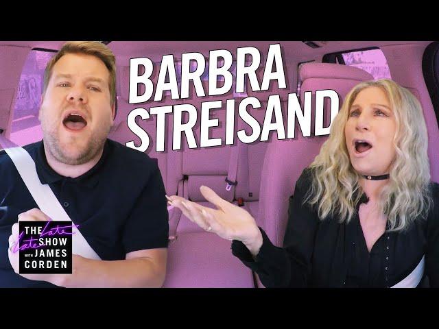 Barbra Streisand Carpool Karaoke