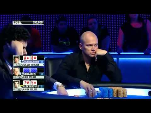 EPT9 - Barcelona 2012 (RUS). Main Event, Final Table . E1