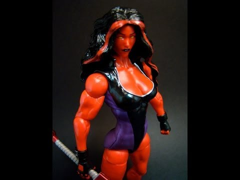 Marvel Legends Red She-Hulk Review