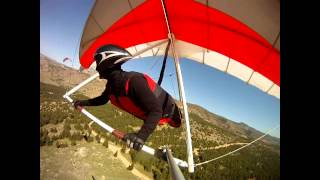 Hanggliding Travertine Swoop