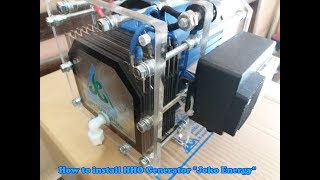How to install HHO Generator Joko Energy