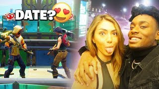 I Met a HOT Model on Fortnite and Took her on an EXPENSIVE Date! *LUCKIEST DAY EVER*