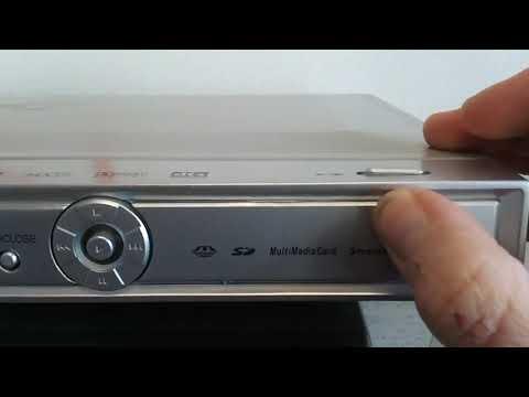 Dvd Logoss Mod. L101 DiVX, MPEG4 USB Lector de tarjetas 3 en 1 MP3