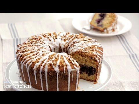 Blueberry-Buttermilk Muesli Coffee Cake - From the Test Kitchen