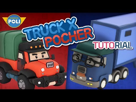 Transformed into clay♥The Villains became so soft! | Friends of Robocar POLI | Gony's Claytown