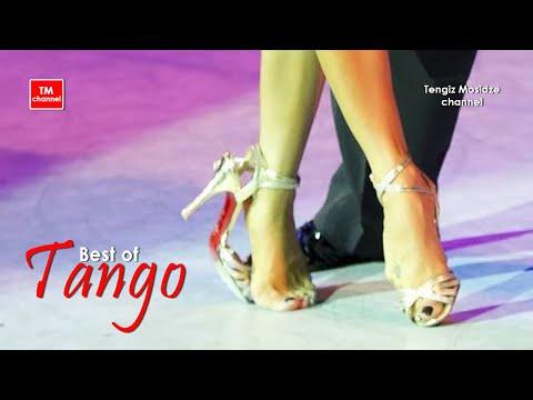 Tango on one shoe.  Dmitry Vasin and Esmer Omerova. Танго на одной туфельке.