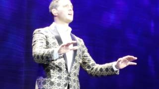 Michael Buble Video - Michael Bublé A Song For You Live in Madrid 31.01.2014