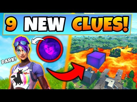 Fortnite Update: SECRET DARK SKIN & CUBE EXPLAINED! – 9 Clues and Theories in Battle Royale!