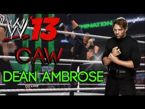 WWE '13 - Dean Ambrose (The Shield) - CAW