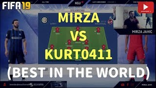 MIRZA VS KURT0411 (BEST IN THE WORLD) IN DIVISION RIVALS - PRO VS PRO! | FIFA 19 ULTIMATE TEAM