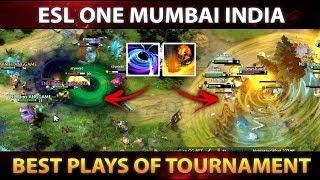 ESL One Mumbai 2019 - BEST PLAYS, BEST MOMENTS - Aftermovie Dota 2