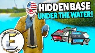 HIDDEN BASE UNDER THE WATER! - Gmod DarkRP Life (You Can Print Money Underwater)