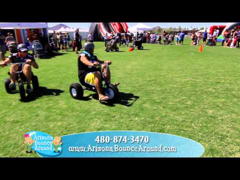 Rent Giant Big Wheel Adult Tricycles from Arizona Bounce Around for your ...