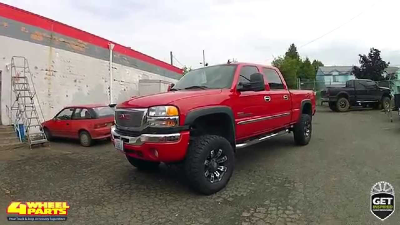 Gmc Sierra 2500 Hd Slt 2006 Build By 4 Wheel Parts